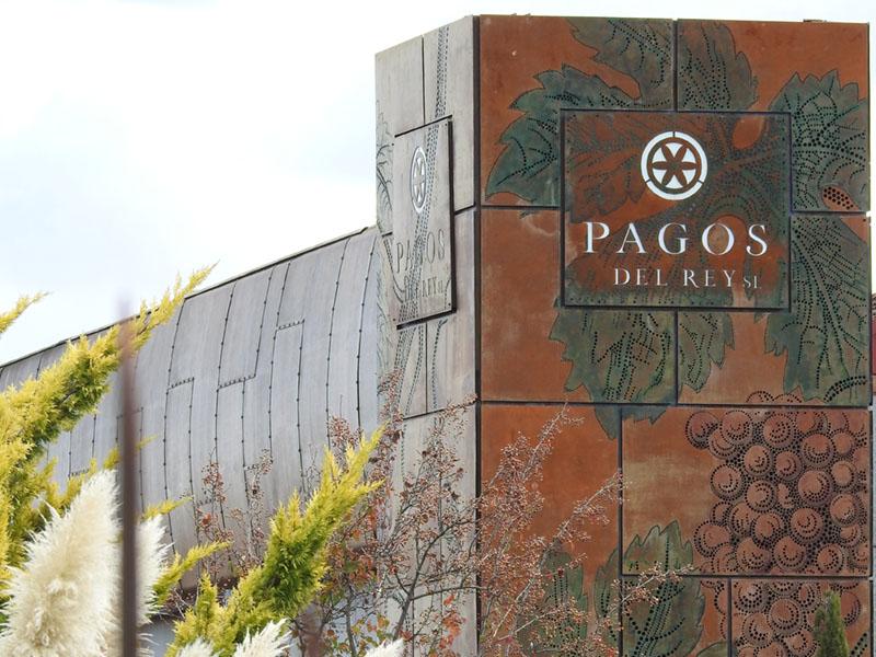 Vista del exterior del Museo del Vino Pagos del Rey