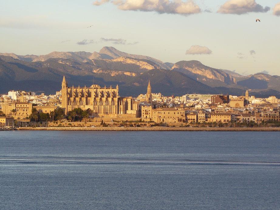 Imagen panorámica de Mallorca