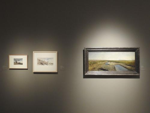 Tres de las obras de Mariano Fortuny