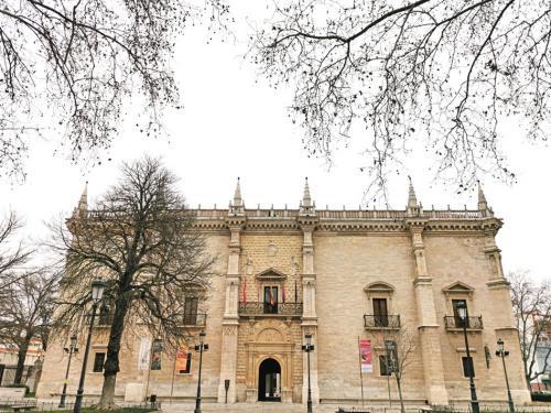 Fachada del Palacio de Santa Cruz