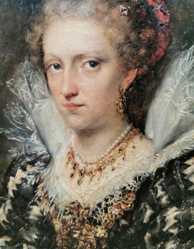 Retrato de Jacqueline van Caëstre