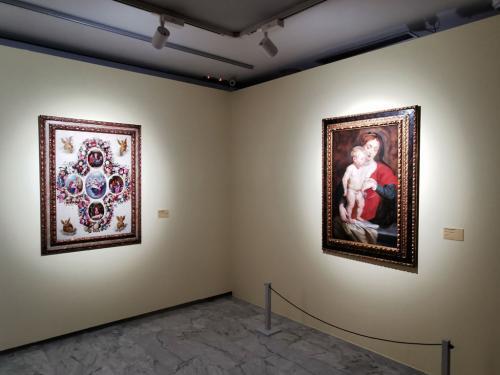 Escenas cotidianas del niño Jesús y Virgen de Cumberland