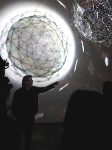 Olafur Eliasson bajo Partícula de polvo de estrellas