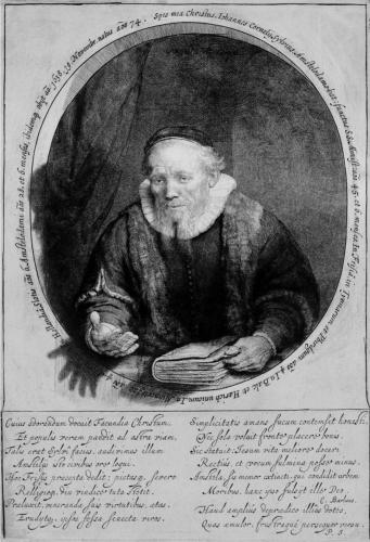 El pastor Jan Cornelis Sylvius