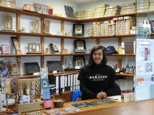 Inés Suarez, estudiante en prácticas