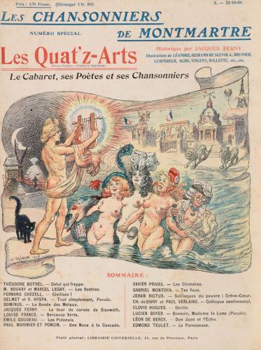 Los cantantes de Montmartre
