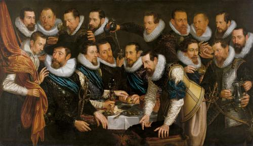 Banquete de la guardia cívica