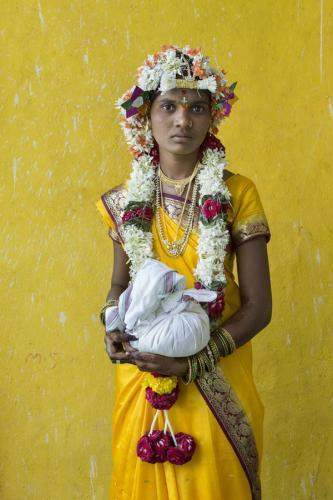 Shirvani en el día de su boda