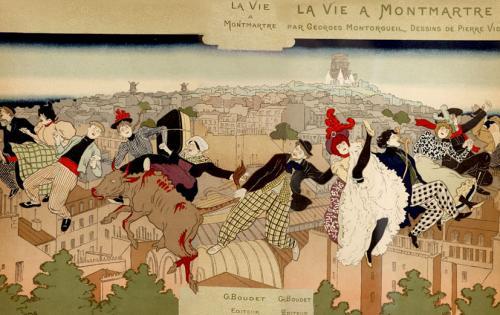 Cubierta para La Vie à Montmartre