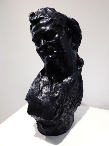 Balzac, busto sonriente