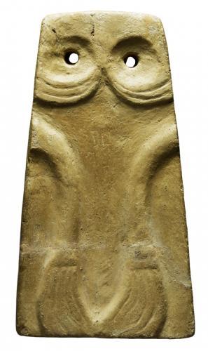 Placa escultórica