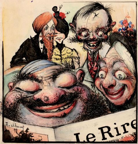 Cubierta de la revista Le Rire