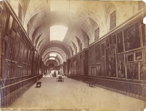 Vista de la Galería central del Museo del Prado