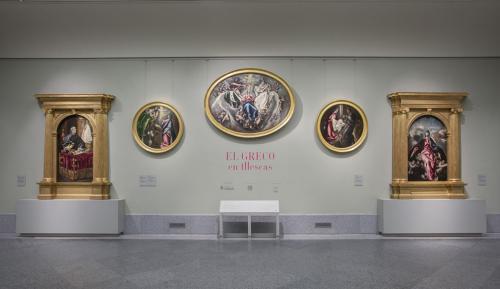 Montaje de la exposición
