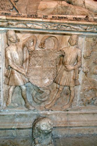 Detalle del sepulcro