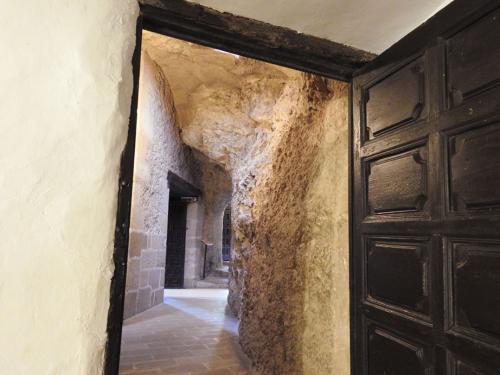 Acceso a la sacristía de la ermita