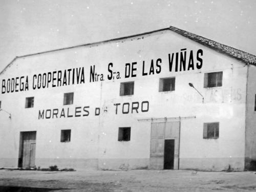 Aspecto original de la antigua Cooperativa de Nuestra Señora de las Viñas