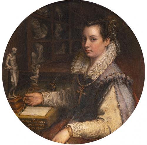 Autorretrato en el estudio, 1579