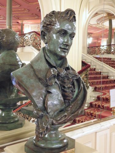 Busto de Juan Crisóstomo Arriaga