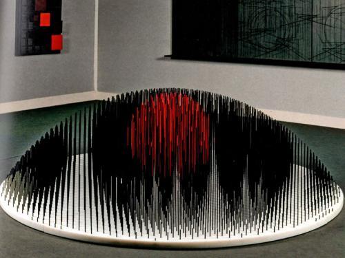 Cúpula de centro rojo, 1997