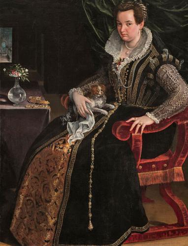 Costanza Alidosi, 1595