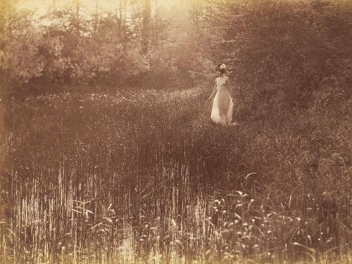 Constant Puyo. Desnudo femenino en la naturaleza, 1ª mitad del siglo XX