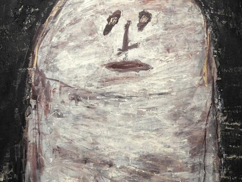 Detalle de Demoiselle au teint bleu, 1958