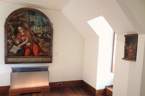 Detalle de la Sala I, Antiguos Maestros
