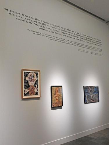 Detalle de una de las salas de exposición