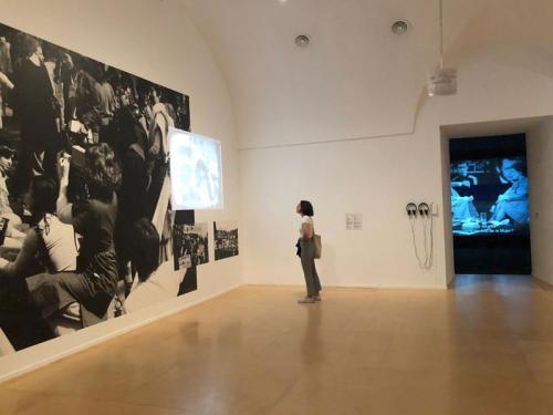 Detalle de una de las salas de la exposición