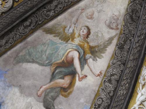 Detalles de la capilla de San Saturio