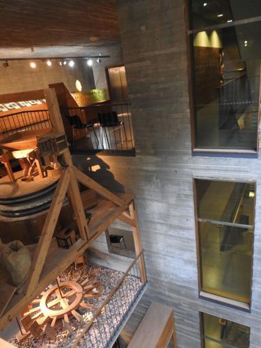 Detalles del diseño interior del Museo del Pan de Mayorga