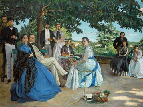 Reunión familiar, 1867
