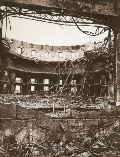 Incendio del Teatro Arriaga. 22 diciembre 1914