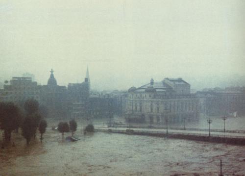 Inundaciones de Bilbao. Agosto de 1983