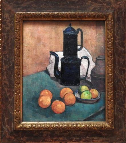 La cafetera azul, 1888