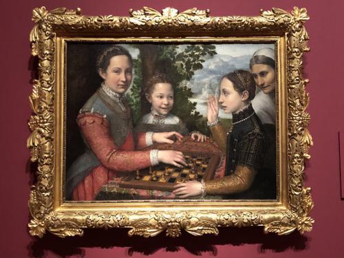 La partida de ajedrez, 1555