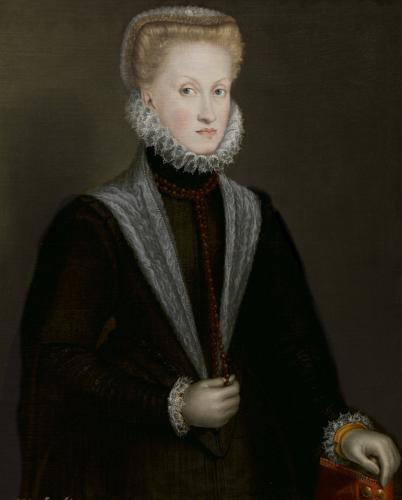 La reina Ana de Austria, 1573