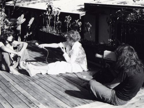 Maria Schneider, Delphine Seyrig y Carole Roussopoulos