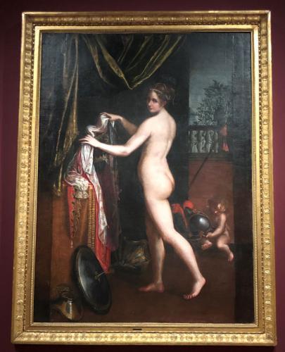 Minerva desnuda, 1613