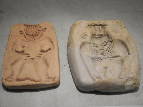 Moldes del dios Bes, 300-200 a. C