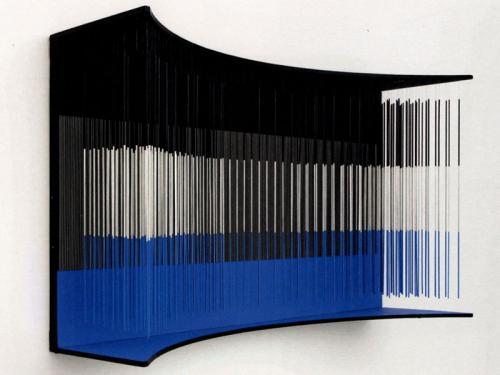 Muro azul, negro y plata, 1966