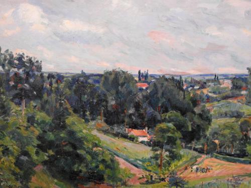 Paisaje cercano a Pontoise, 1877