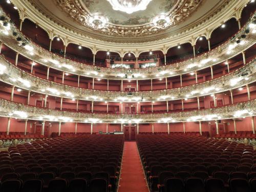 Patio de butacas visto desde el escenario
