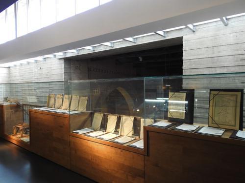 Planta primera del Museo del Pan de Mayorga