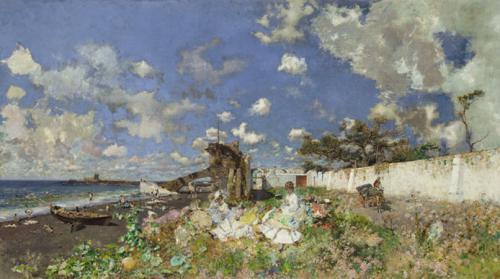 Playa de Portici, 1874