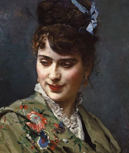 Retrato de Aline Masson, 1870