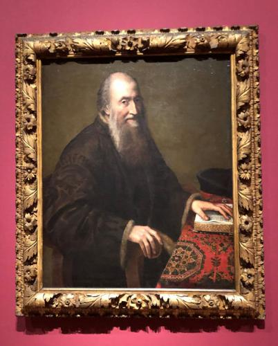 Retrato de anciano, 1557-1558