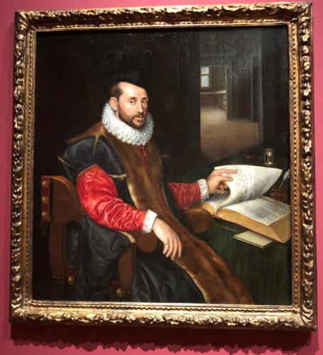 Retrato de caballero (Senador Orsini), 1577-1579