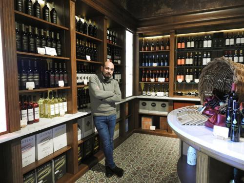 Roberto Castaño, director del Museo del Vino Pagos del Rey